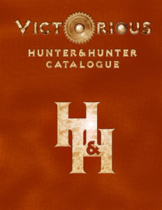 Hunter & Hunter Catalogue cover