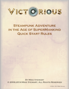 Victorious quick start rules cover image