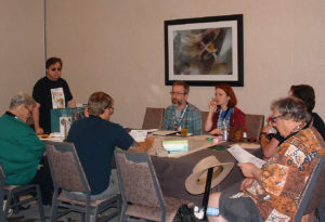 Victorious game play in session at the 2019 North Texas RPG Convention